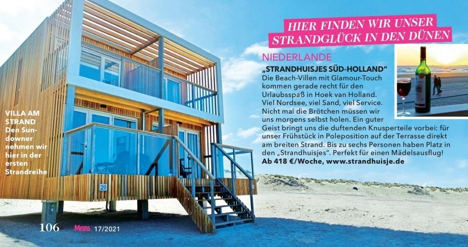 Deze afbeelding heeft een leeg alt-attribuut; de bestandsnaam is Strandhaus-Holland.jpg